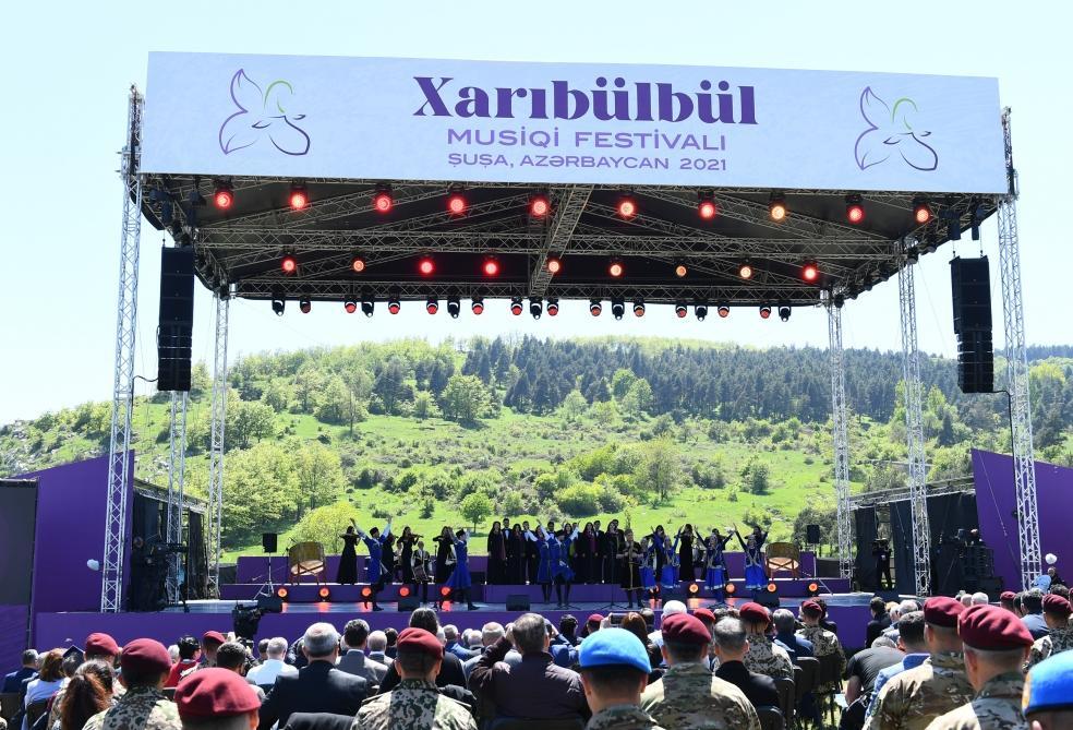 Khari Bulbul Music Festival 2022. Shusha, Karabakh